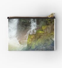 Waterfall Crashing Over Rocks Studio Pouch