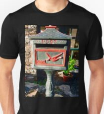OldPost Box, Corcgreggan Mill, Donegal, Ireland Unisex T-Shirt