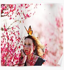 The  woman in the cherry blossom  Poster
