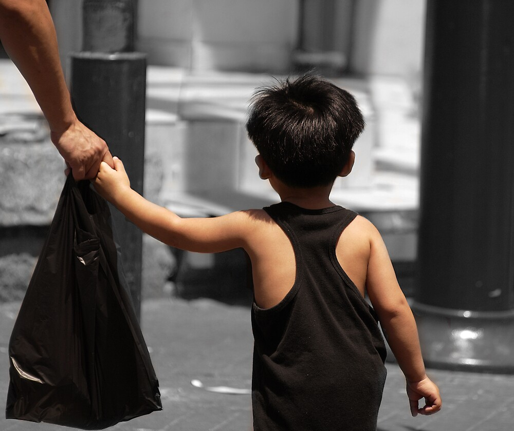 Shopping with daddy 2 by MichaelBr