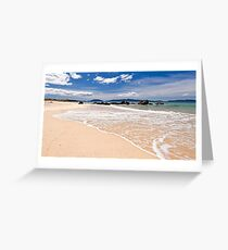 Cressy Beach-2 Tasmania Greeting Card