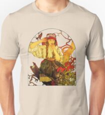 HD Alphonse Mucha - Music: Moravian Teachers' Choir stunning design number II!  T-Shirt