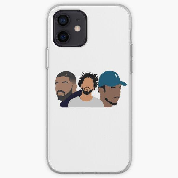 Drake, J Cole, Kendrick Lamar iPhone Soft Case