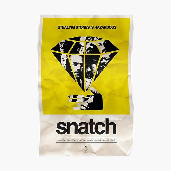snatch minimalist poster Poster