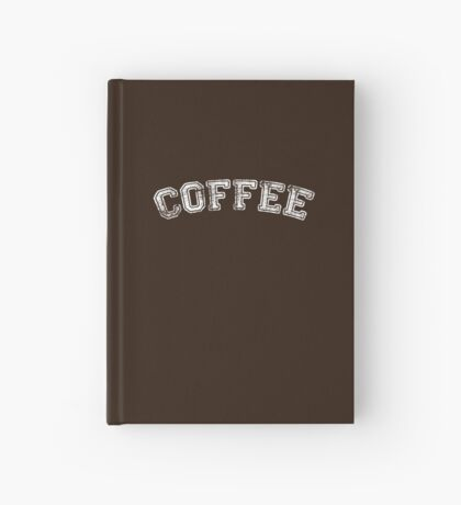 Coffee University Hardcover Journal