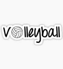 Pegatina volleyball