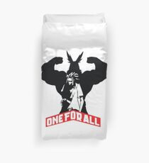 All Might  Duvet Cover