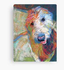 Blaze the goldendoodle dog Canvas Print