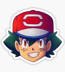 Ash Ketchum / Satoshi x7 (SM / Alola version) Sticker