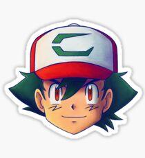 Ash Ketchum / Satoshi x7 (Movie 20th version) Sticker