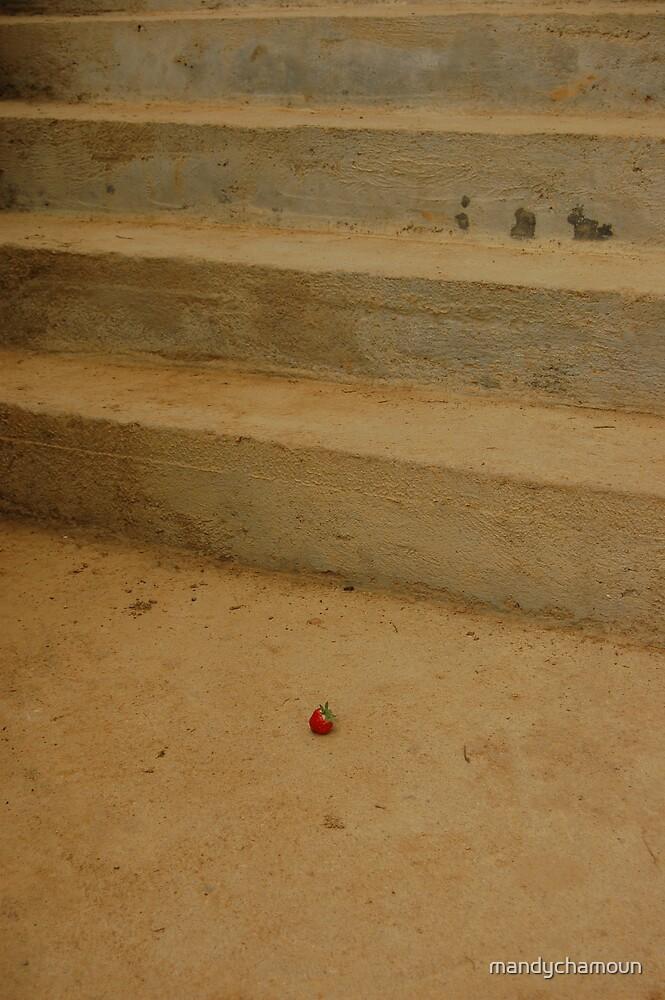 Strawberry Stairs by mandychamoun