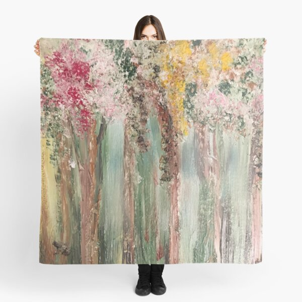 Woods in Spring Scarf