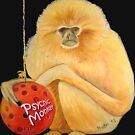 Psychic Monkey T-Shirt and Sticker by Scott Plaster