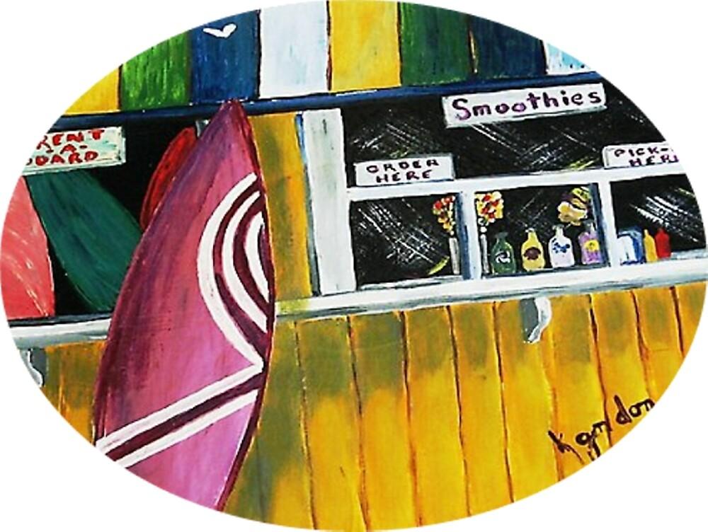 """Smoothies"" Surf Shack by WhiteDove Studio kj gordon"