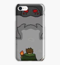 Final boss spider iPhone Case/Skin
