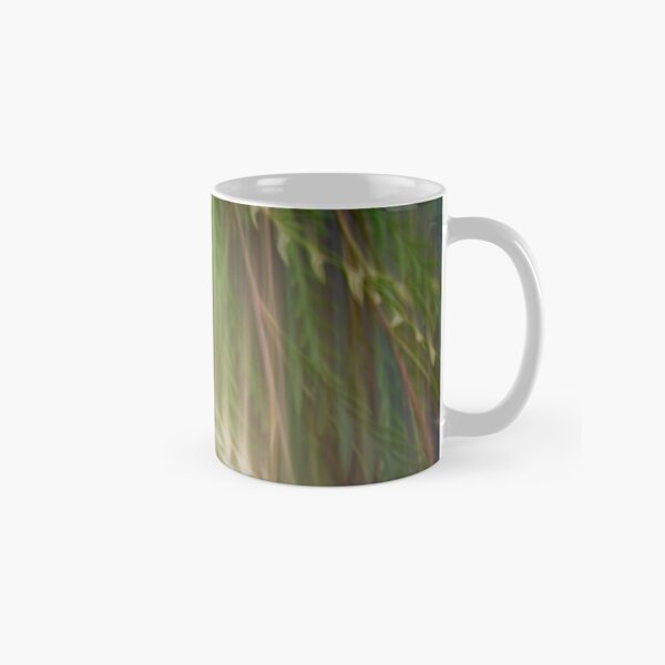 Fleur Blur Series-Abstract Decorative Leaves Classic Mug