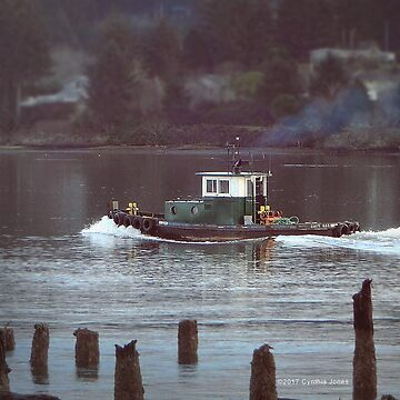 Tugboat by Mount-Cynthus