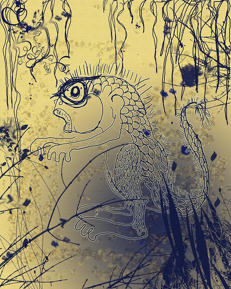 Swamp Thing by EggsandScissors