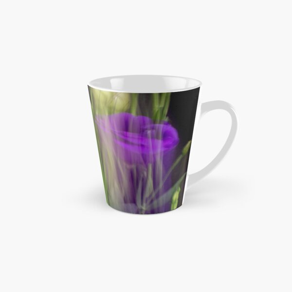 Fleur Blur-Abstract Purple Flower Photo Tall Mug