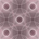 Circled in Shades of Rose Pink by AhUmDesign