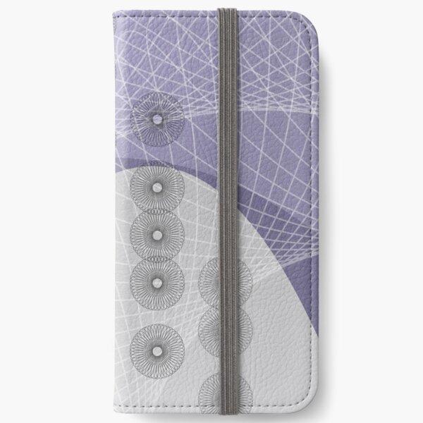 Purple Skyfall iPhone Wallet