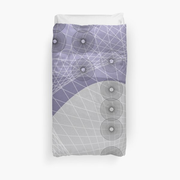 Purple Skyfall Duvet Cover