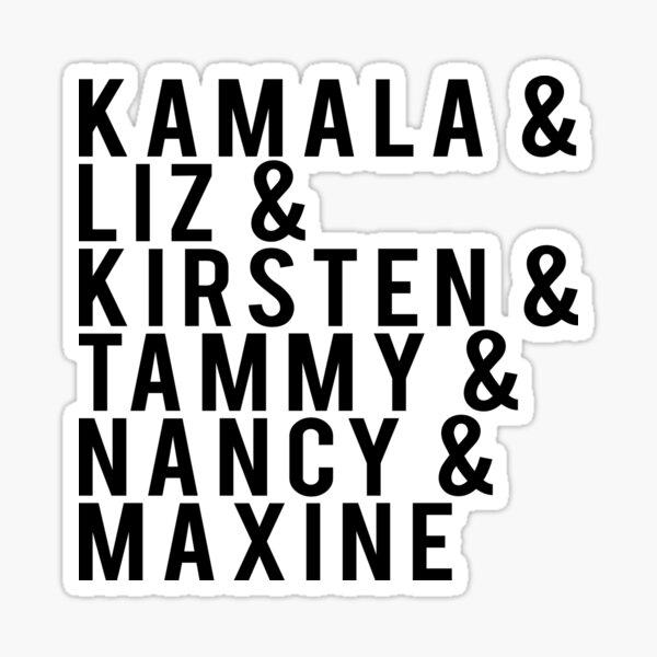 """Women in Politics """"& Design"""" Sticker"""