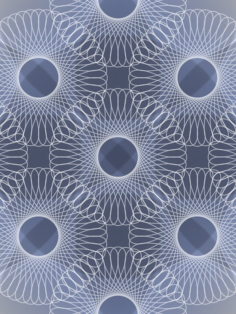 Circled in Shades of Sapphire Blue by AhUmDesign