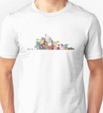 Opera House Button T-shirt Unisex T-Shirt