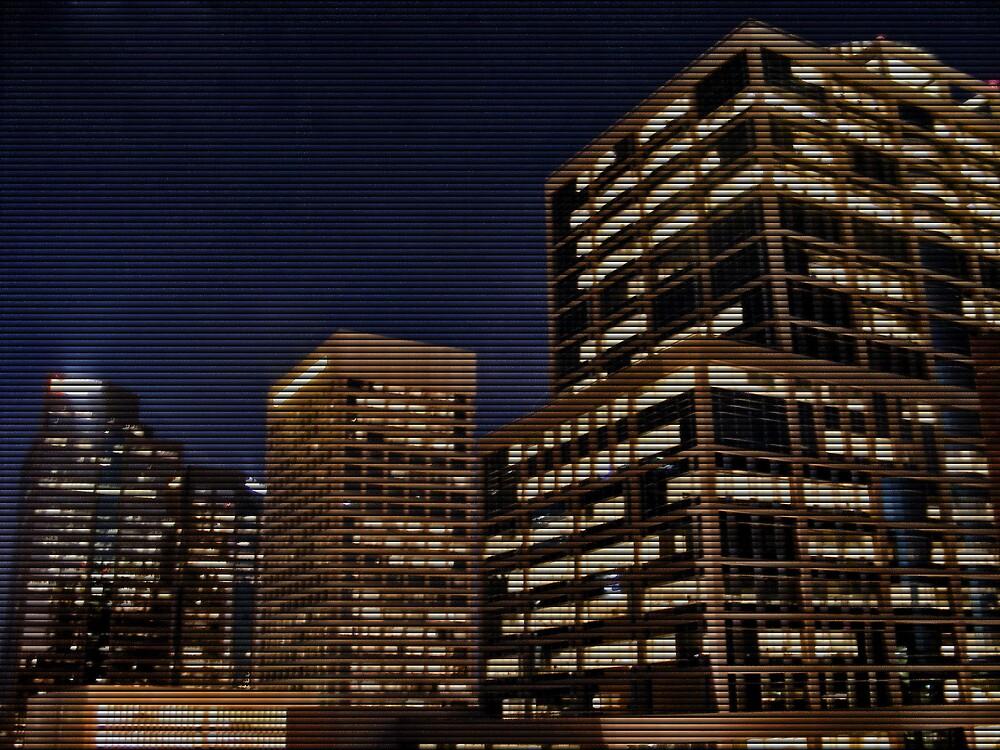 Downtown Phoenix Trio Blinds by KLPhair