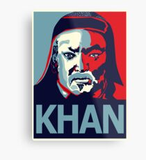Khan Metal Print