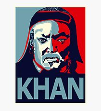 Khan Photographic Print