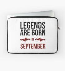Legends Are Born In September Laptop Sleeve