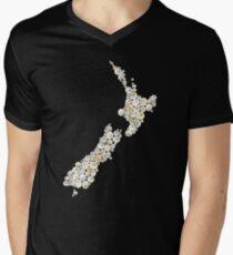 New Zealand cats eye shells  Men's V-Neck T-Shirt