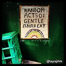 Random Acts of Gentle Anarchy by terriblecomfort
