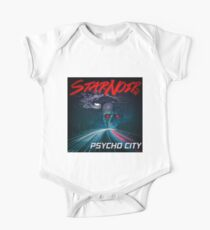 Psycho City EP Cover Short Sleeve Baby One-Piece