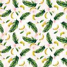 Bananenmuster von BekkaCampbell