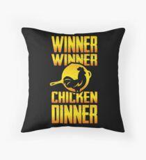 Winner Winner Chicken Dinnnnner!  Throw Pillow