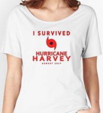 I Survived Hurricane Harvey 2017 Women's Relaxed Fit T-Shirt
