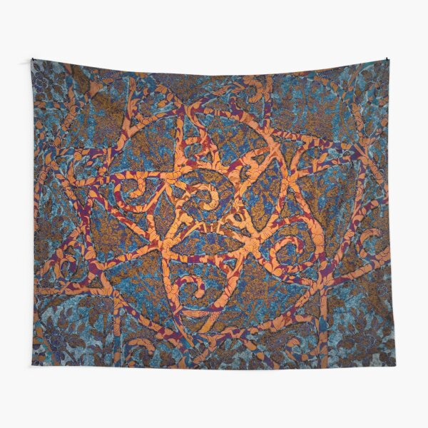 Sacred spiral II Tapestry