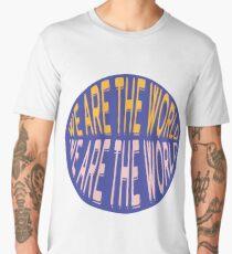 We Are The World Men's Premium T-Shirt