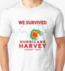 We Survived Hurricane Harvey 2017 Unisex T-Shirt