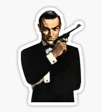 James Bond - Sean Connery Sticker