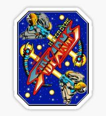 Sidearms Cabinet Art Sticker