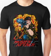 Rush'n Attack Cabinet Art Unisex T-Shirt
