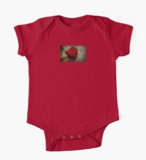 Each Love Deserves A Fine Flower Like The Red Rose One Piece - Short Sleeve