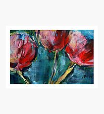 Tulips. Photographic Print