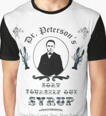 Sort Yourself Out Syrup Old Timey Jordan Peterson Meme Graphic T-Shirt