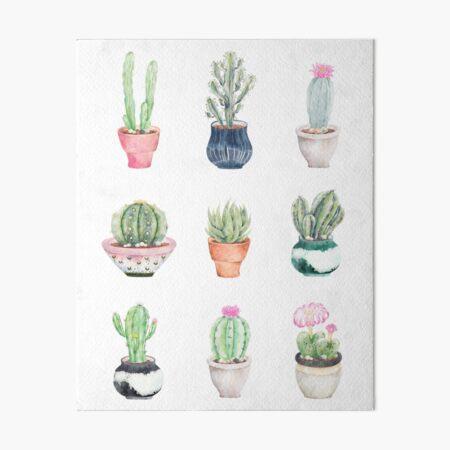 Succulents Art Board Print