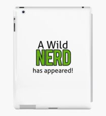 Wild Nerd iPad Case/Skin